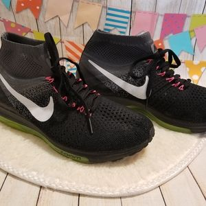Mens Nike All Out Flyknit Zoom Running Shoes sz 7